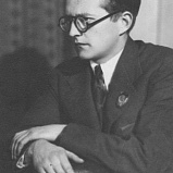 Dmitry Shostakovich (1906-1975). Composer.
