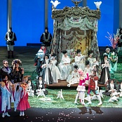 Parade of the costumes from Mozart. The Marriage of Figaro
