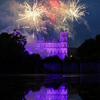 A Night in Gatchina Park