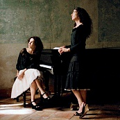 Piano duo of Katia and Marielle Labèque