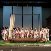 Dress rehearsal of <i>Mozart. The Marriage of Figaro</i>